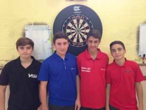 Semi-Finalists (Ethan Smith, Jerome Duarte, Craig Galliano, Justin Hewitt)